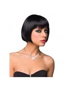 SexShop - Peruka Pleasure Wigs - model Shiela Wig Black - online