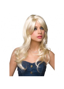SexShop - Peruka Pleasure Wigs - model Jessie Wig Platinum Blonde - online
