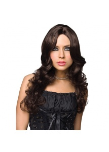 SexShop - Peruka Pleasure Wigs - model Zoey Wig Brown - online