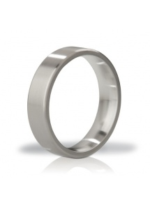 SexShop - Stalowy pierścień na penisa - Mystim His Ringness Duke Brushed 55mm - online