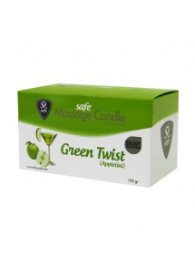 SexShop - Świeca do masażu - Safe Massage Candle Green Twist Appletini jabłka - online