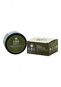 Intensywny krem ​​CBD Daily Triple Strength Potrójna siła - 1,7 uncji / 48 g - XEUCBDCCX050 - CBD Daily Triple Strength Intensive Cream - 1.7 oz / 48 g
