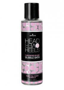 Sexshop - Sensuva Head Over Heels Pheromone Bubble Bath 236ml Wanilia - Płyn do kąpieli z feromonami - online