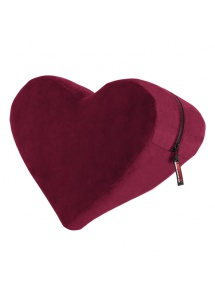 SexShop - Podparcie serce do seksu - Liberator Heart Wedge Merlot   - online