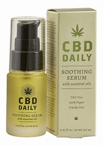 Serum kojące na dzień CBD - 20 ml - CBD Daily Soothing Serum - 0.67 oz / 20 ml