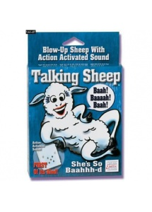 SexShop - Dmuchana Becząca Owieczka - Talking Blow-up Sheep - online