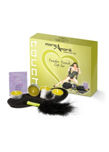 SexShop - Zestaw do gry wstępnej MoreAmore - Tender Touch Gift Set - online